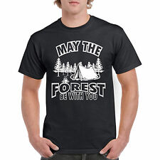 T Shirt Forest Be With You S Unisex I Tee Nature D New Adult F Gift Funny Humor