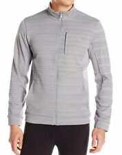 CALVIN KLEIN men's PERFORMANCE FULL ZIP Fleece JACKET Regulat Fit GREY LARGE nwt