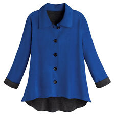 Tunic Jacket - Reversible Fleece Sweater