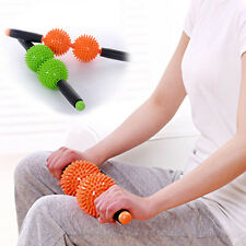 Manual Double Ball Massage Hammer Roller Health Care Hammer Dredge Meridian