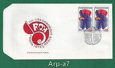 (FC1247) Czechoslovakia FDC - First Day Cover 1972 VIII trade union Congress ROH