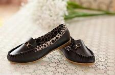 Spring new flat with low shoes Leopard side Peas shoes casual shoes