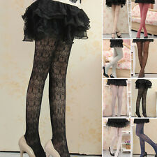 Girl Women Girls Trendy Delicate Lace Splicing Hollow Pantyhose Stocking Tights
