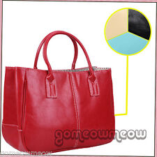 Cool Candy Concise Women's Ladies PU Leather Handbags Briefcase Purse Tote Bag