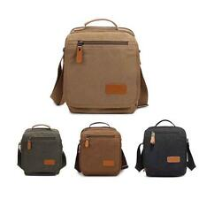 Brand Men's Canvas Messenger Shoulder Bag Handbag Outdoor Travel Hiking Gym Bag