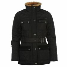 Firetrap Kingdom Jacket Ladies Quilted Womens