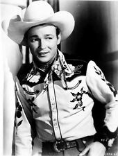 Roy Rogers posed in Portrait in Cowboy Outfit High Quality Photo