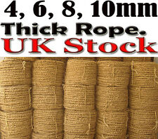 NATURAL COCONUT JUTE ROPE CORD PULLEY CLOTH AIRERS toy COIR parrots crafts fiber