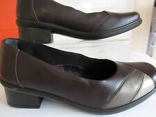 DB Ladies Easy B (Catch) Brown Multi size UK 4 fitting EE (GO)