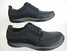 Clarks Route Walk Mens Shoes Navy G Fitting Sizes 7 x 11 (R22F)