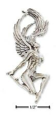 Sterling Silver Winged Woman Charm