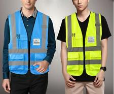 High Visibility Reflective Safety Vest Clothing waistcoat Vests Security Jacket