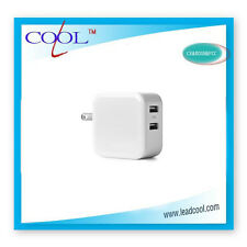Dual USB 5V 4.8A Wall Charger Adapter USB Charger Travel Power 2 USB Port for iP