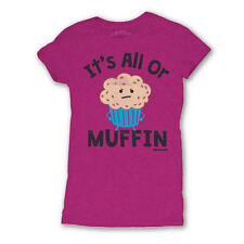 David and Goliath Womens T-shirt - Its All Or Muffin