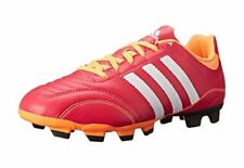 New Adidas Women's Matteo Nua TRX FG W Soccer Cleats Pink, White and Orange