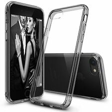 For iPhone 7 / 7 Plus 2016 Ultra Thin Clear Crystal Rubber TPU Case Cover+Film