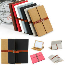 For Apple iPad 2 3 4 5 6 Mini Smart Stand Folding Leather Case Cover Skin Shell