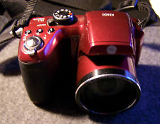 GE POWER Pro series X2600 16.1 MP 26X ZOOM RED DIGITAL CAMERA  FREE SHIPPING