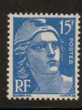 FRANCE SG1007d 1951 15f BLUE MOUNTED MINT