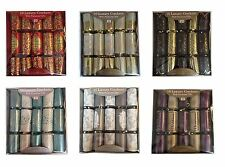 New Pack of 10 Luxury Christmas Xmas Table Crackers With Premium Gifts