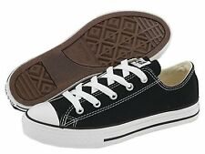 Converse Kids 3J235 chuck Taylor All Star Low Top  Black Without Box Brand New