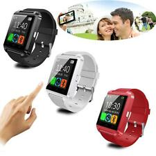 Bluetooth Smart Wrist Watch Phone Mate For Android IOS Samsung Xiaomi iPhone LG