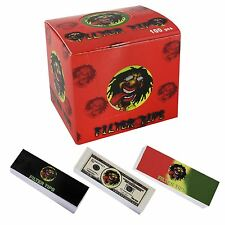 Rasta Cigarette Filter Tips Roaches Rolling Paper Card 50 Sheets per Booklet