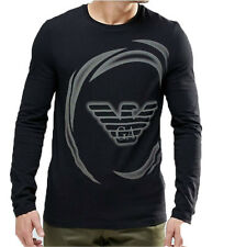 Emporio Armani Long Sleeve Designer T-shirt,Body fit, Size M, L, XL