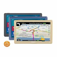 "XGODY 8GB Touch Screen 7""TRUCK CAR GPS Navigation FM SAT NAV+Sunshade New Map"