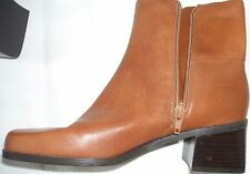 """Women's NWT! Madeline Stuart Forward Leather Upper 2"""" Heels Boots Shoes 7M NEW"""