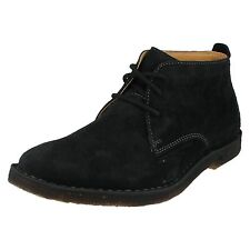 Hush Puppies 'desert II' Men's Black Suede Lace Up Ankle Height Desert Boots