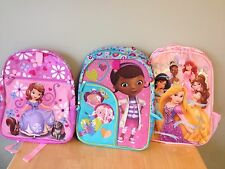 NWT Disney store Princess Backpack DoC McStuffins or  Sofia the First