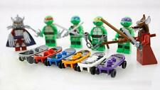 6 Sets Minifigures Teenage Mutant Ninjago Ninja Turtles Toys Souptoys CE