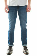 New Barkers Mens Jeans Firth Selvedge Denim DENIM