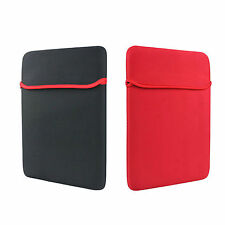 """Soft Sleeve Protection Case Bag Cover For 14"""" 15.6"""" Reversible Notebook Laptop"""