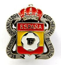 FOOTBALL SOCCER WORLD CUP 1982 SPAIN  OFFICIAL PIN BADGE ENAMEL