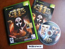 Star Wars Knights Of The Old Republic II - XBOX Game - FAST FREE POST