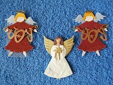 3 x Christmas Angel Toppers for Card making