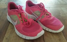 Women's Nike Free Run 3 Pink Running Shoes Sz 6.5Y