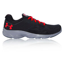 Under Armour Bgs Pace Rn Junior Boys Black Cushioned Running Sport Shoe Trainers