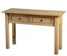 Solid Pine Dressing Table with Drawers Rustic Unit Traditional Bedroom Furniture