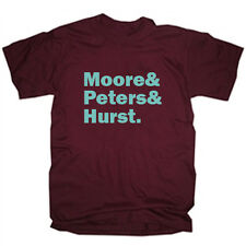 WEST HAM FOOTBALL CLUB LEGENDS MOORE PETERS HURST T SHIRT TEE - ALL SIZES