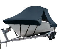 Boat Cover for Sea Hunt 196 Center Console Fishing T-Top Navy