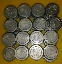 155 used Replica Bag of Coins For Coin Pusher Penny Falls Arcade Game Only £1.99