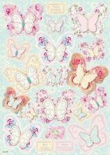 CLR DieCut A4 Lace Butterfly - Our Ref No - ACCILBDC001