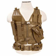 NcSTAR Tactical PVC Vest Military Special Forces Swat Police Hunting -- **TAN**