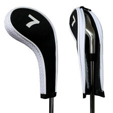12 Golf Iron Zippered Head Covers for Titleist Callaway Taylormade Long Neck