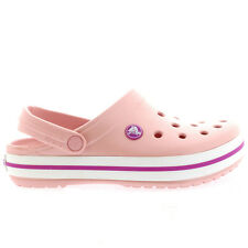 Ladies Crocs Crocband Beach Casual Clogs Mules Summer Shoes Sandals All Sizes