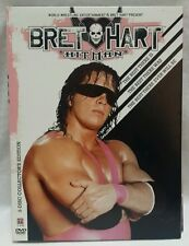Bret Hart The Hitman (3 DVD set, 2005)  Collector's Edition  WWE WWF Wrestling