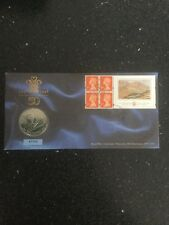 First Day Coin Cover - Prince of Wales 50th Birthday 1998 £5 Pounds Coin Cover
